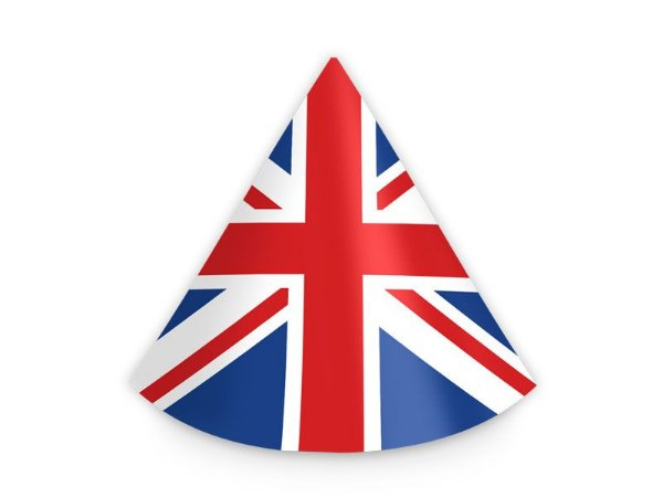 4ddd952ec127c Chapéu de Aniversário - Londres - 08 unidades - Festas Mix - Nossa ...