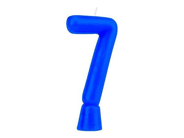 Vela Solid Colors - Azul - Nº 7