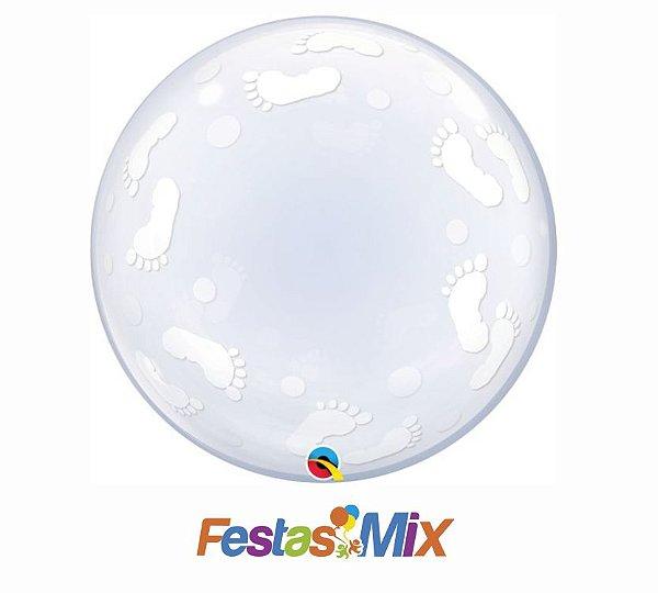 Balão Bubble - Pézinhos - 24 polegadas