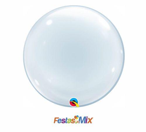Balão Bubble - Transparente - 20 polegadas