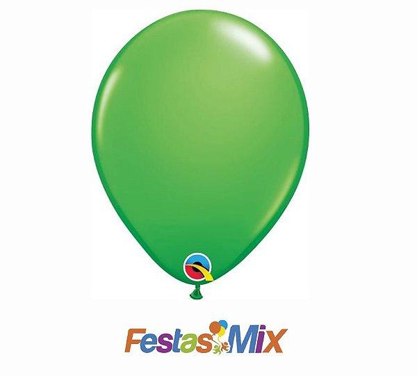Balão Látex 5 Polegadas - Verde Primavera - 05 unidades