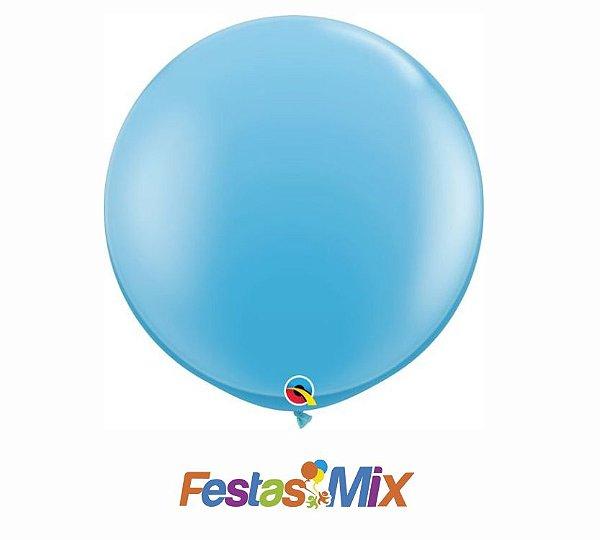 Balão Látex 3 Polegadas - Azul Claro - 01 unidade