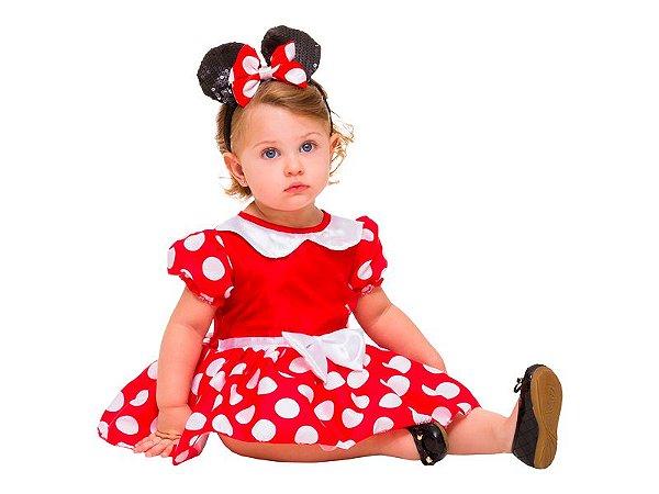 Fantasia Infantil - Minnie Mouse Baby