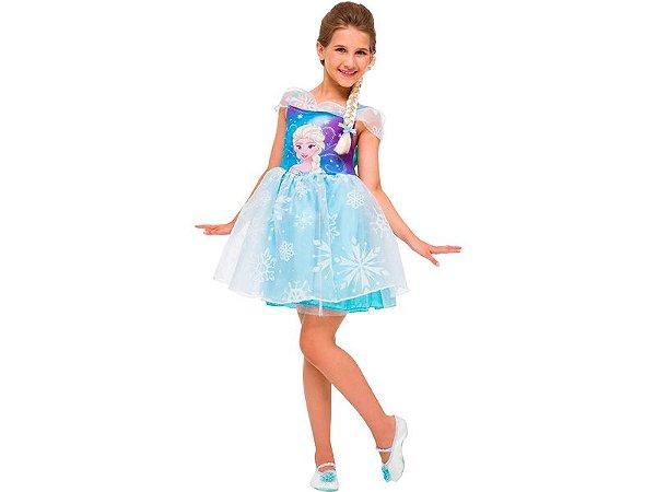 Fantasia Infantil - Frozen - Elsa - G