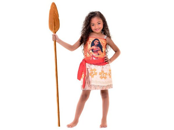 Fantasia Infantil-  Princesa Moana - G