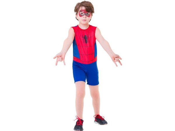 Fantasia Avengers - Homem Aranha Pop - P