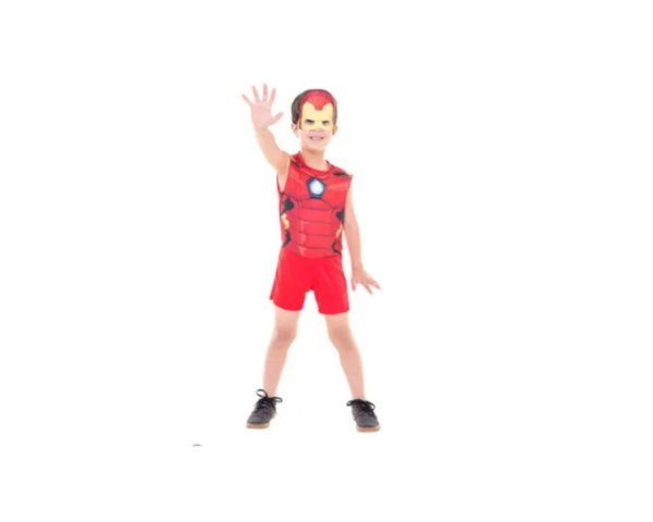Fantasia Infantil - Homem de Ferro POP - P