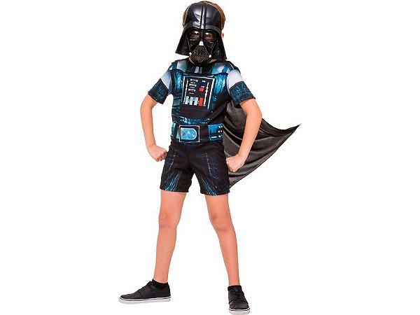 Fantasia Star Wars - Darth Vader Clássica Curta - M