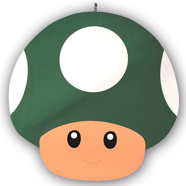 Cogumelo Verde EVA - 60cm