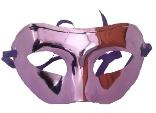 Máscara Veneziana Simples - Roxa