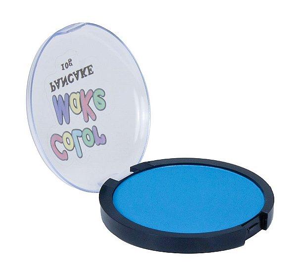Pancake Neon Color Make - Azul
