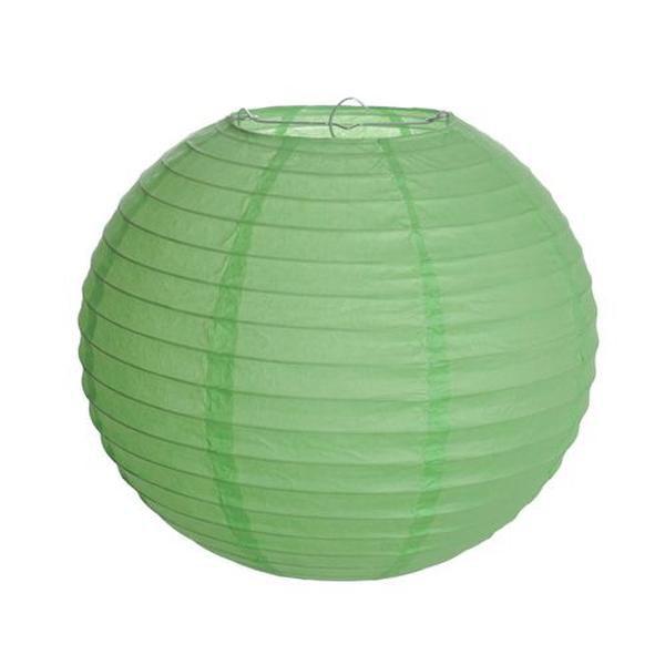 Lanterna de Papel - Verde - 25 cm