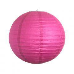 Lanterna de Papel - Rosa - 25 cm