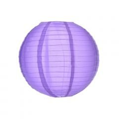 Lanterna de Papel - Roxo - 25 cm