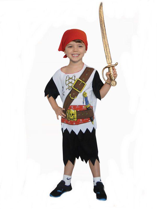 Fantasia Infantil - Pirata - M