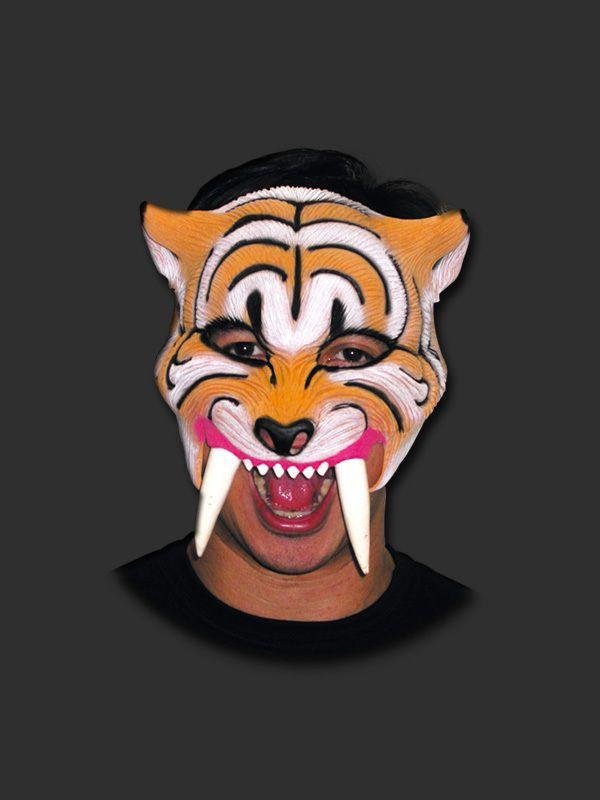 Máscara - Dente de Sabre com Elástico