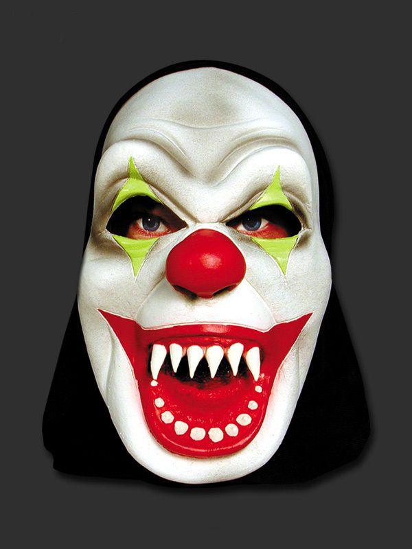 Máscara - Palhaço Mau com Capuz