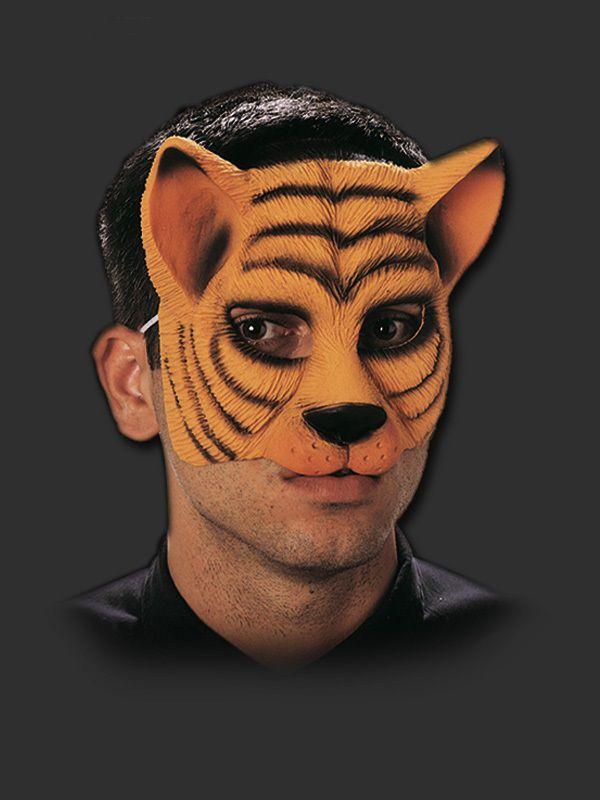 Máscara - Tigre com Elástico