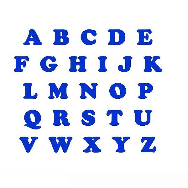 Letras EVA - Azul