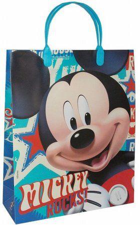 Sacola Plástica - Mickey Mouse - 01 unidade