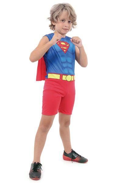 Fantasia Infantil - Super Homem Light - P