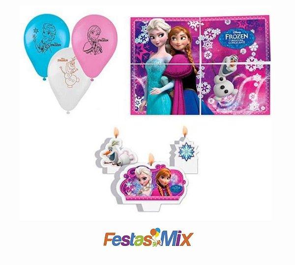 Kit Decoração de Festa - Frozen