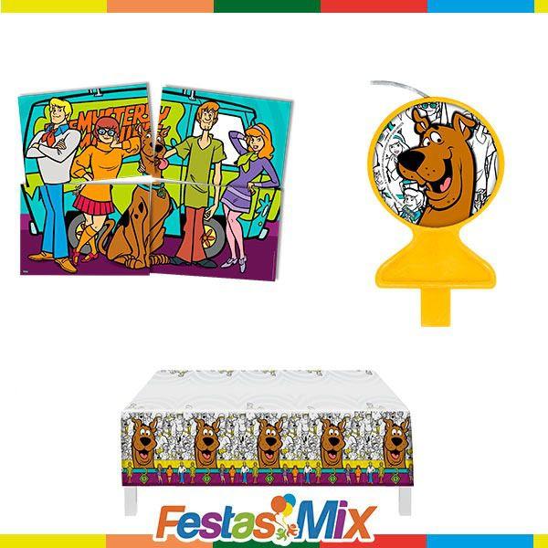Kit Decoração de Festa - Scooby Doo