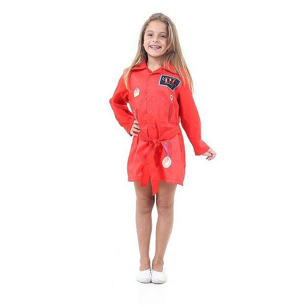 Fantasia Infantil - DPA Vermelho - M
