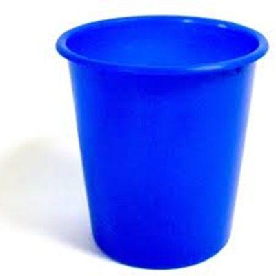 Balde Plástico de Pipoca - Azul - 01 litro