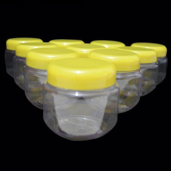 Pote Papinha - Amarelo - 10 unidades