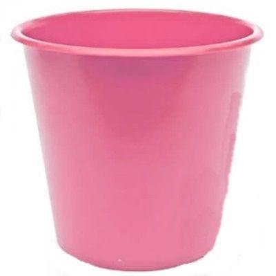 Balde Plástico de Pipoca - Rosa Claro - 01 litro