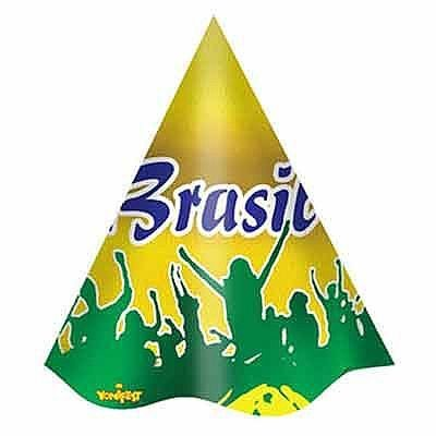 Chapéu - Brasil - 08 unidades