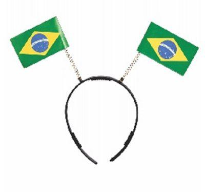 Tiara - Bandeira Brasil - 10 unidades