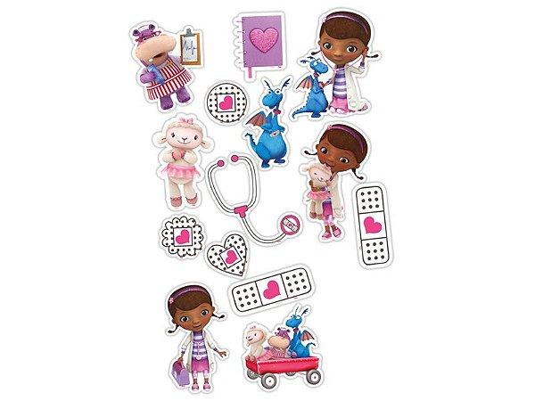 Mini Personagens - Doutora Brinquedos - 15 unidades