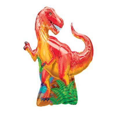Balão Metalizado - SuperShape - Dinossauro