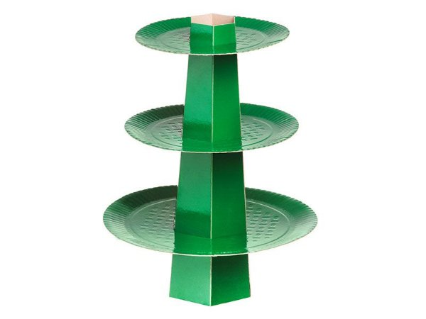 Baleiro 3 Andares - Festa Colors Verde Escuro