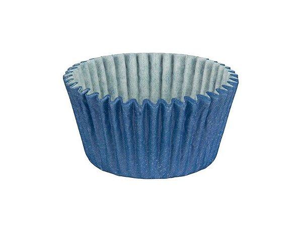 Forminha para Cupcake - Festa Colors Azul - 45 unidades