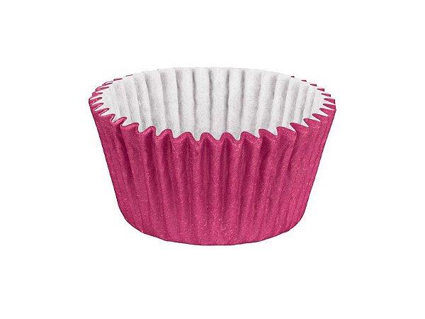 Mini Forminha para Cupcake - Festa Colors Rosa - 45 unidades