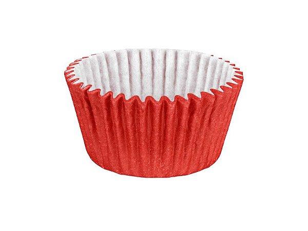 Mini Forminha para Cupcake - Festa Colors Vermelho - 45 unidades