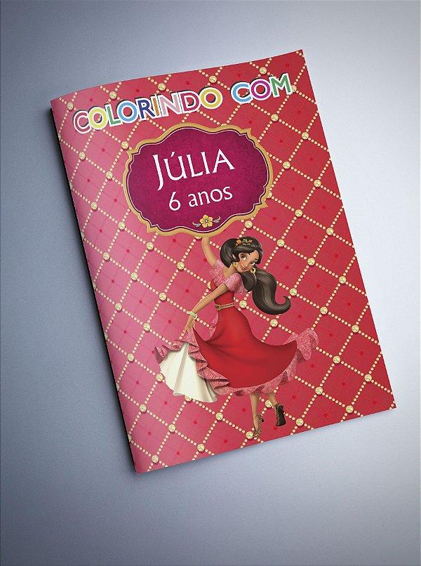 Livro para Colorir - Elena de Avalor
