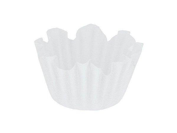 Forminha Nº 5 - Flor Branca - 100 unidades