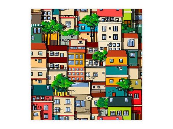 Saco Perolado para Presente - Casas Brasil - 50 unidade