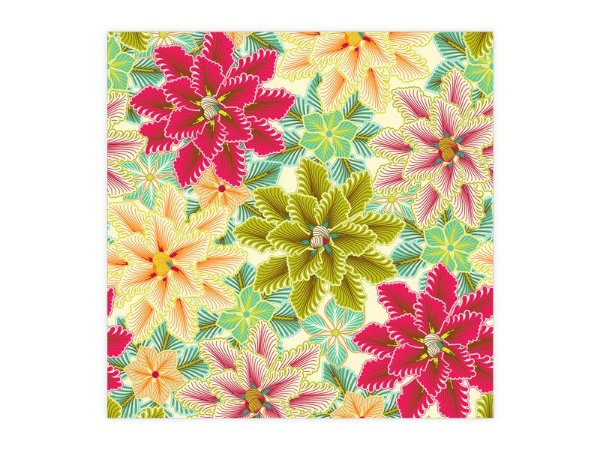 Saco Perolado para Presente - Flores Colors - 50 unidades