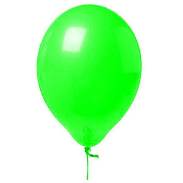 Balão Neon nº9 - Verde Neon -Art-Latex
