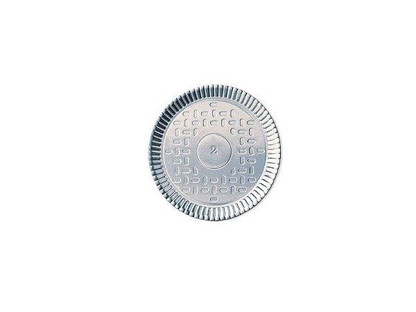 Prato Metalizado Dourado Nº 03 (22Cm)