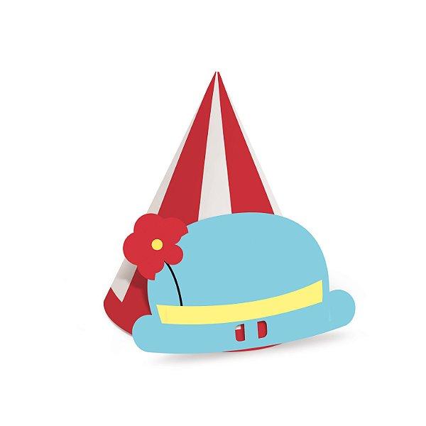 Chapéu de Aniversário - Circus - 08 unidades