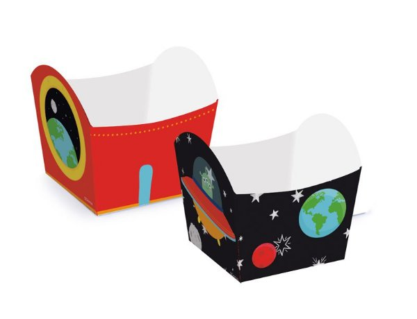 Mini cachepot - Astronauta - 10 unidades