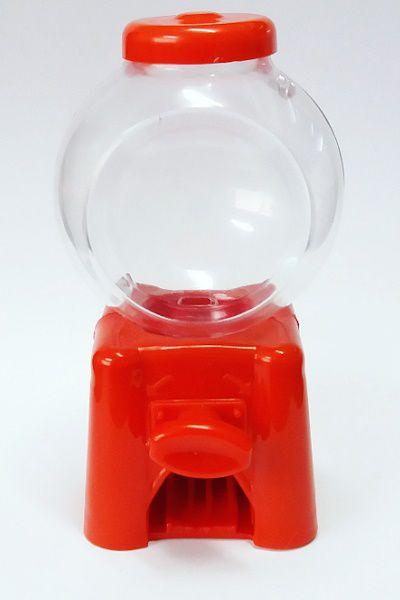 Mini baleiro Candy Machine -  vermelho - 6 unidades