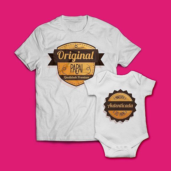 Kit Camisa + Body Esses são Originais