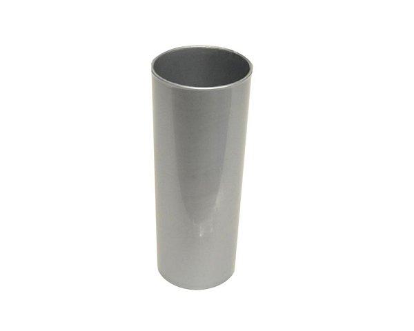 Copo Acrílico Long Dring - 300ml - - Prata